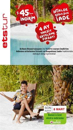 Seyahat fırsatları İstanbul ETS Tur kataloğu ( Bugün son gün )