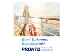 Pronto Tur broşürdeki Seyahat ve Hobiler dan fırsatlar ( 4 gün kaldı)