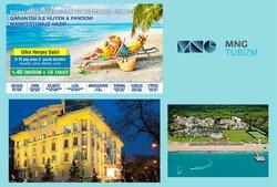 MNG Turizm broşürdeki Seyahat ve Hobiler dan fırsatlar ( Yarın son gün)