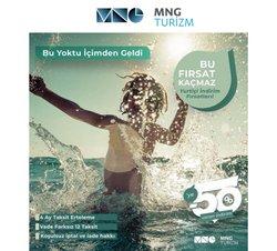 MNG Turizm broşürdeki Seyahat ve Hobiler dan fırsatlar ( 3 gün kaldı)