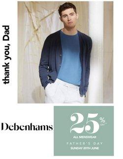 Debenhams broşürdeki Giyim, Ayakkabı ve Aksesuarlar dan fırsatlar ( Dün yayınlandı)