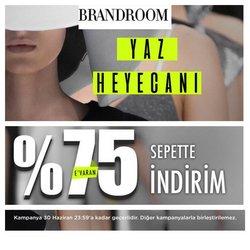 Brandroom broşürdeki Giyim, Ayakkabı ve Aksesuarlar dan fırsatlar ( 9 gün kaldı)