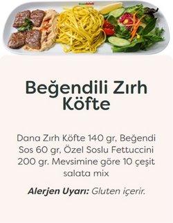 Green Salads broşürdeki Kafe ve Restoranlar dan fırsatlar ( Bugün son gün)