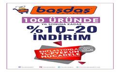 İzmir broşürdeki Başdaş Marketdan fırsatlar