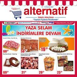 Alternatif broşürdeki Süpermarketler dan fırsatlar ( Yarın son gün)