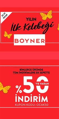 Boyner kataloğu ( Dün yayınlandı )