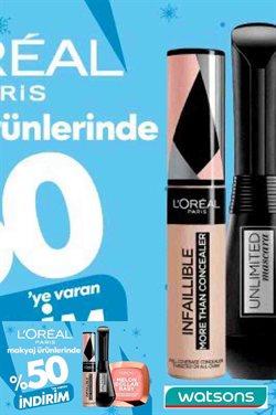 Kozmetik fırsatları İstanbul Watsons kataloğu ( 3 gün kaldı )