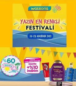 Watsons broşürdeki Kozmetik ve Bakım dan fırsatlar ( 3 gün kaldı)