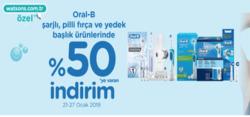 Ankara broşürdeki Watsonsdan fırsatlar