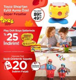 Toyzz Shop broşürdeki Oyuncak ve Bebek dan fırsatlar ( 7 gün kaldı)