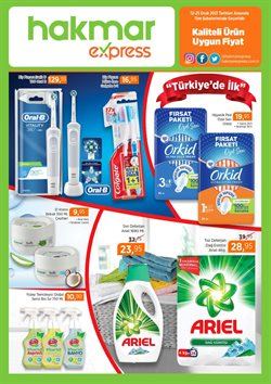 Süpermarket fırsatları Erzurum Hakmar Express kataloğu ( 7 gün kaldı )