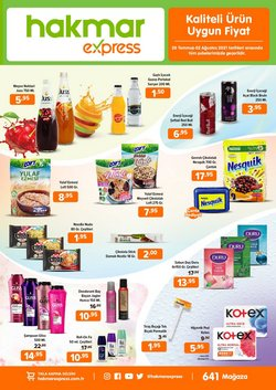 Hakmar Express broşürdeki Hakmar Express dan fırsatlar ( 5 gün kaldı)