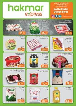 Hakmar Express broşürdeki Süpermarketler dan fırsatlar ( Bugün yayınlandı)