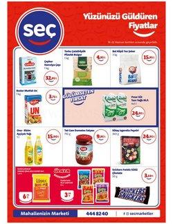 Seç Market broşürdeki Süpermarketler dan fırsatlar ( Yarın son gün)
