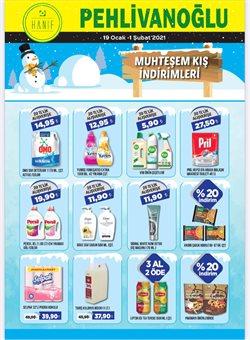 Süpermarket fırsatları Ankara Pehlivanoğlu kataloğu ( 3 gündür yayında )