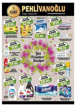 Pehlivanoğlu broşürdeki Süpermarketler dan fırsatlar ( Bugün son gün)
