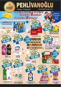 Pehlivanoğlu broşürdeki Süpermarketler dan fırsatlar ( Bugün yayınlandı)