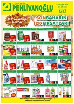 Pehlivanoğlu broşürdeki Süpermarketler dan fırsatlar ( 2 gün kaldı)