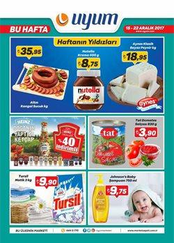 İstanbul broşürdeki Uyum Marketdan fırsatlar