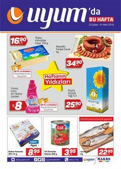 Ankara Uyum Market kataloğundaki Süpermarket fırsatları göster