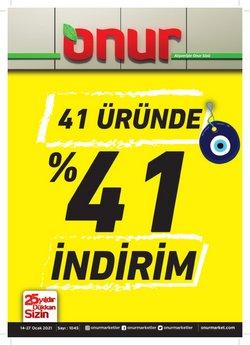 Süpermarket fırsatları İstanbul Onur Market kataloğu ( 3 gündür yayında )