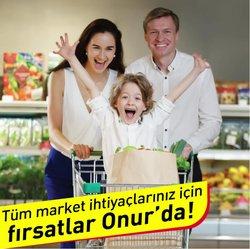 Onur Market kataloğu ( Bugün yayınlandı)