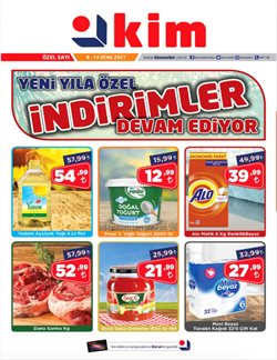 İzmir Kim Market kataloğu ( Süresi geçmiş )