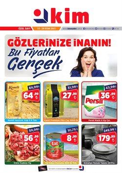 Süpermarket fırsatları Ankara Kim Market kataloğu ( 6 gün kaldı )