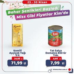 İstanbul Kim Market kataloğu ( Dün yayınlandı )