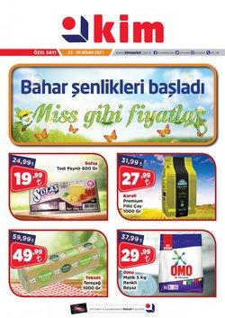 İstanbul Kim Market kataloğu ( 3 gün kaldı )