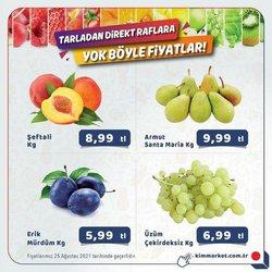 Kim Market broşürdeki Kim Market dan fırsatlar ( Süresi geçmiş)
