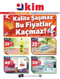 Kim Market broşürdeki Kim Market dan fırsatlar ( 7 gün kaldı)