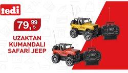 Tedi broşürdeki Jeep dan fırsatlar ( Bugün yayınlandı)