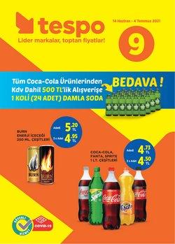 Tespo broşürdeki Süpermarketler dan fırsatlar ( 12 gün kaldı)