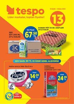 Tespo broşürdeki Süpermarketler dan fırsatlar ( 11 gün kaldı)