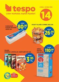 Tespo broşürdeki Süpermarketler dan fırsatlar ( 3 gün kaldı)