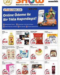 Süpermarket fırsatları Ankara Show Hipermarketleri kataloğu ( Bugün yayınlandı )