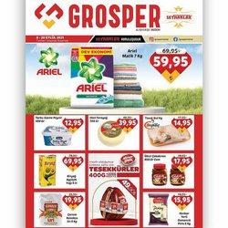 Grosper kataloğu ( Yarın son gün)
