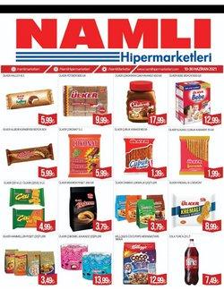 Namlı Hipermarketleri broşürdeki Namlı Hipermarketleri dan fırsatlar ( 16 gün kaldı)