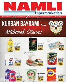 Namlı Hipermarketleri broşürdeki Namlı Hipermarketleri dan fırsatlar ( 2 gün kaldı)