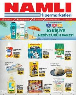 Namlı Hipermarketleri broşürdeki Namlı Hipermarketleri dan fırsatlar ( Yarın son gün)