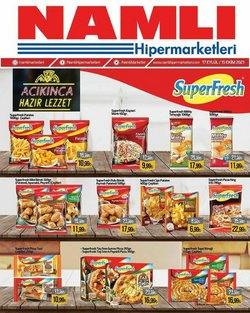 Namlı Hipermarketleri broşürdeki Süpermarketler dan fırsatlar ( Dün yayınlandı)