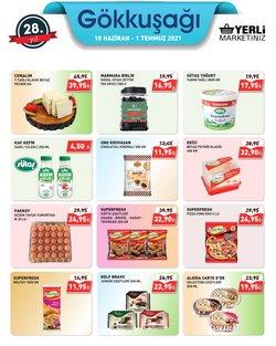 Gökkuşağı Market broşürdeki Süpermarketler dan fırsatlar ( Bugün yayınlandı)
