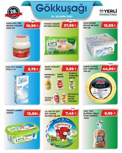 Gökkuşağı Market broşürdeki Süpermarketler dan fırsatlar ( 7 gün kaldı)