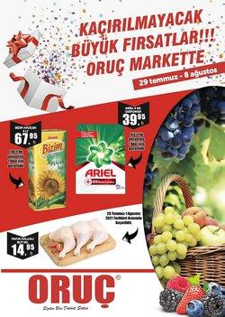 Oruç Market kataloğu ( Dün yayınlandı)