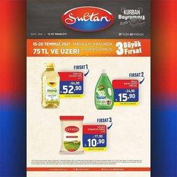 Sultan Market broşürdeki Sultan Market dan fırsatlar ( 2 gün kaldı)