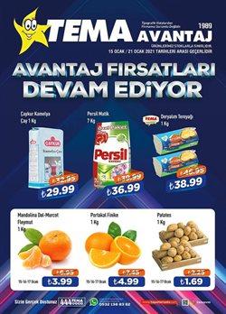 Süpermarket fırsatları İstanbul Tema Market kataloğu ( 2 gündür yayında )