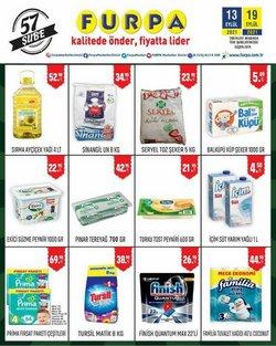Furpa broşürdeki Süpermarketler dan fırsatlar ( Bugün son gün)