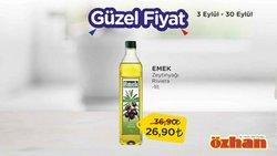 Özhan Market broşürdeki Süpermarketler dan fırsatlar ( Bugün son gün)