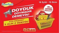 Özhan Market kataloğu ( Dün yayınlandı)